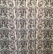 jungle boy printed fabric